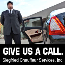 give siegfried Chauffeur a call